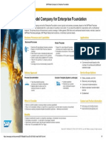SAP Model Company for Enterprise Foundation