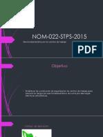 NOM-022-STPS-2015.pptx