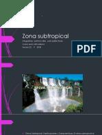Zona Subtropical