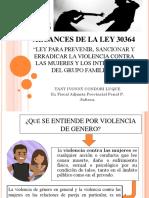 Alcances de La Ley 30364 (1) Tany Condori Luque