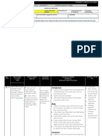 forward planning documents - lesson plans - assignment 1