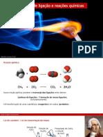 10ano Q 2 3 1 Energia de Ligacao e Reacoes Quimicas
