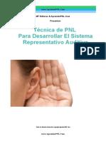 Técnica de PNL Para Desarrollar Sistema Representativo Auditivo- AprenderPNL