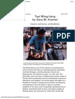 Tsai Ming-liang Entrevista