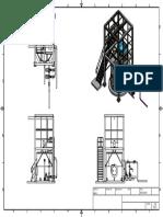 Estructuras y Bombas preparacion de soda caustica
