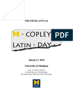 updated 2 20 copley latin day preliminary program 2019 with descriptions