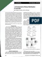 Compressive stress distribution in HSC - ACI Structural Journal 2008.pdf