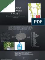 science fair presentation phase 1 2 3
