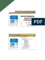 Psicoterapia Analitica Funcional 1