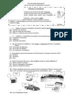 Evaluación Formativa Lenguaje 30 de 10