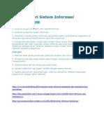Tugas Materi Sistem Informasi