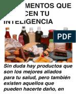 10 Alimentos Que Reducen Tu Inteligencia-1