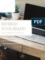 Refresh Your Brand in 5 Simple Steps