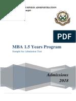 MBA 1.5 Yrs Sample Test 2018.pdf