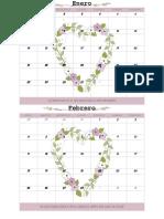 Calendario 2019 Editable