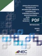 Documento Metodologico GIRS 2015