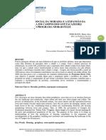 Coninter 2014_28. Pohlmann Faria PRODUÇÃO SOCIAL DA MORADIA E A EXPANSÃO DA PERIFERIA EM CAMPOS DOS GOYTACAZES/RJ
