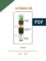 eco-column lab