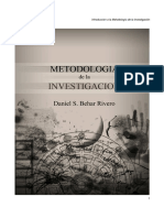 Libro metodologia investigacion Daniel S. Behar Rivero.pdf