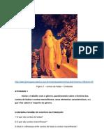 SEQUÊNCIAS DIDÁTICAS CONTO MARAVILHO + CONTO DE FADAS