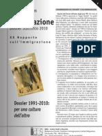 Caritas Migrantes - Scheda - Dossier Statistico Immigrazione 2010