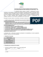 Formulário - Unificado SFO e SDE-RV