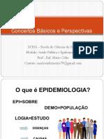 Conceitos Básicos e Perspectivas Históricas Da Epidemiologia