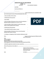 LTA Form A