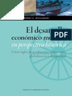 El desarrollo económico mundial en perspectiva histórica - Williamson, Jeffrey G..pdf