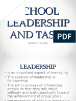 SCHOOL LEADERSHIP AND TASKS.ppt