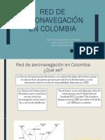 Red de Aeronavegación en Colombia