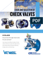 Guide to Design and Selection of Check Valves
