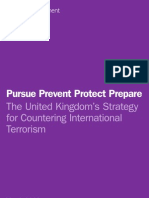 Pursue Prevent Protect Prepare - The United Kingdom's Strategy for Countering International Terrorism