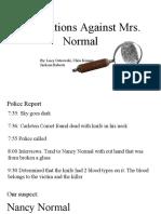 accusations against madam normal