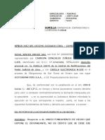 CONTESTA DEMANDA COMERCIAL