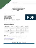 Programa Módulo 3 ESDU