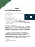 0010100013DEPEN - Derecho Penal Parte Especial - P09 - A19 – Prog
