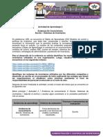 Actividad Escrito Sistemas de Inventarios