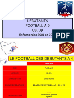 DEBUTANTS FOOTBALL A 5.ppt