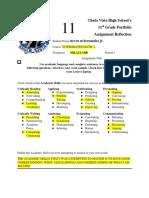junior portfolio reflection form 2019 mm22  1