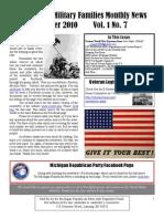 Newsletter Oct 2010