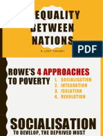 Inequality Between Nations