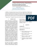 DISEÑO DE AMPLIFICADORES MULTIETAPAS