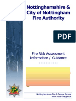 Nfrs Fire Risk Assessment Worked Example v1