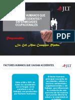 10 Factores Humanos Que Causan Accidentes