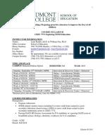 cedu 7771 exploring  stem education syllabus