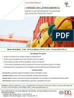 5º GAIN Webinar - Empleos Verdes en Latinoamérica, 26 Marzo
