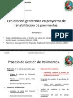 Exploración Geotécnica en Proyectos de Rehabilitación de Pavimentos
