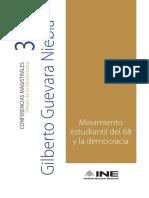 Movimiento Estudiantil Del 68 y la Democracia
