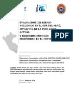 Evaluacion Del Riesgo Volcanico en El Peru